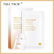 MECMOR Ginseng Nourishing Essence Facial Mask 5PC Additive Free Sensitive Skin Usable Nourish Face Mask