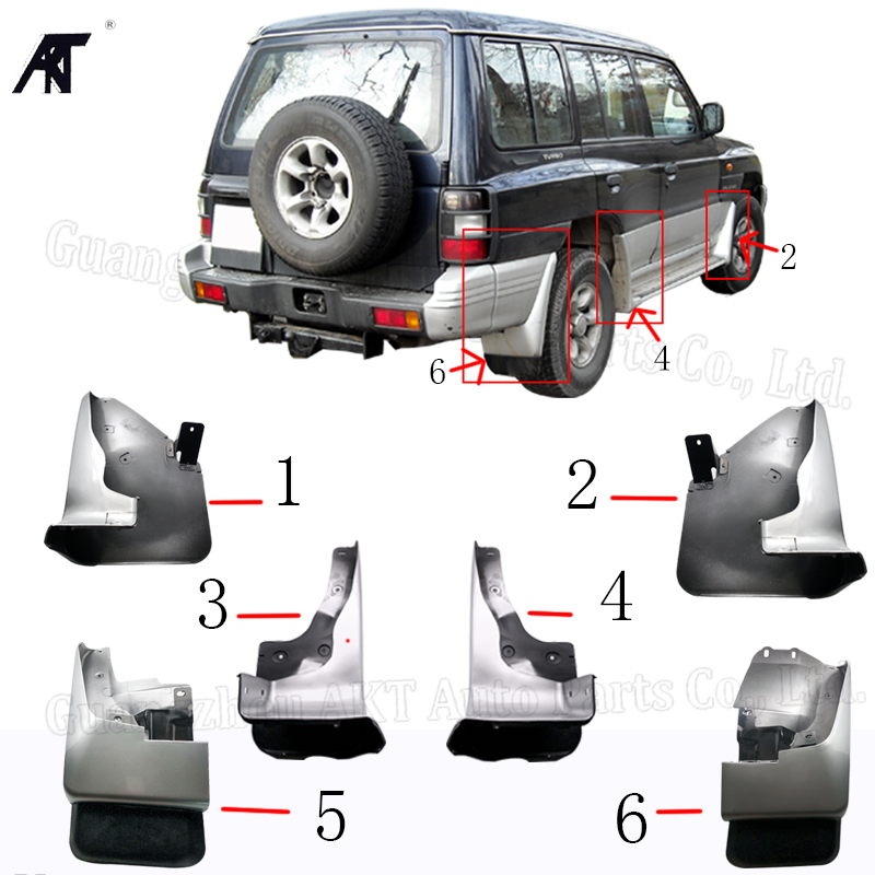Universal Front Rear Moulded Mud Flaps Car Saloon Hatchback Estate Mitsubishi