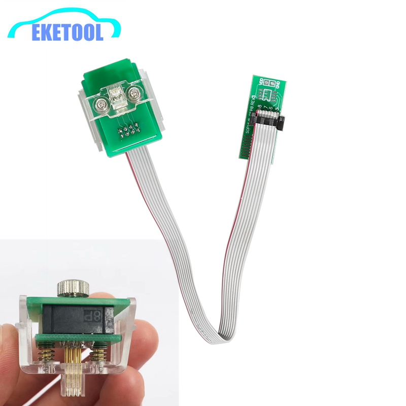 EEPROM Adapter 8Pin Line Clip Soic 8 Sop8 Test Clip Eeprom Clip Supports XPROG V6.12/UPA/Orange/CG PRO 9S12 Free Shipping