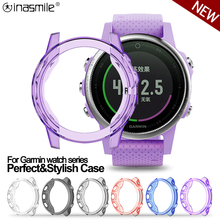 Soft Silicone Protective Case Cover For Garmin Fenix 6 6S 6X Pro Crystal Clear TPU Case For Vivoactive 4 4S Watch Accessories