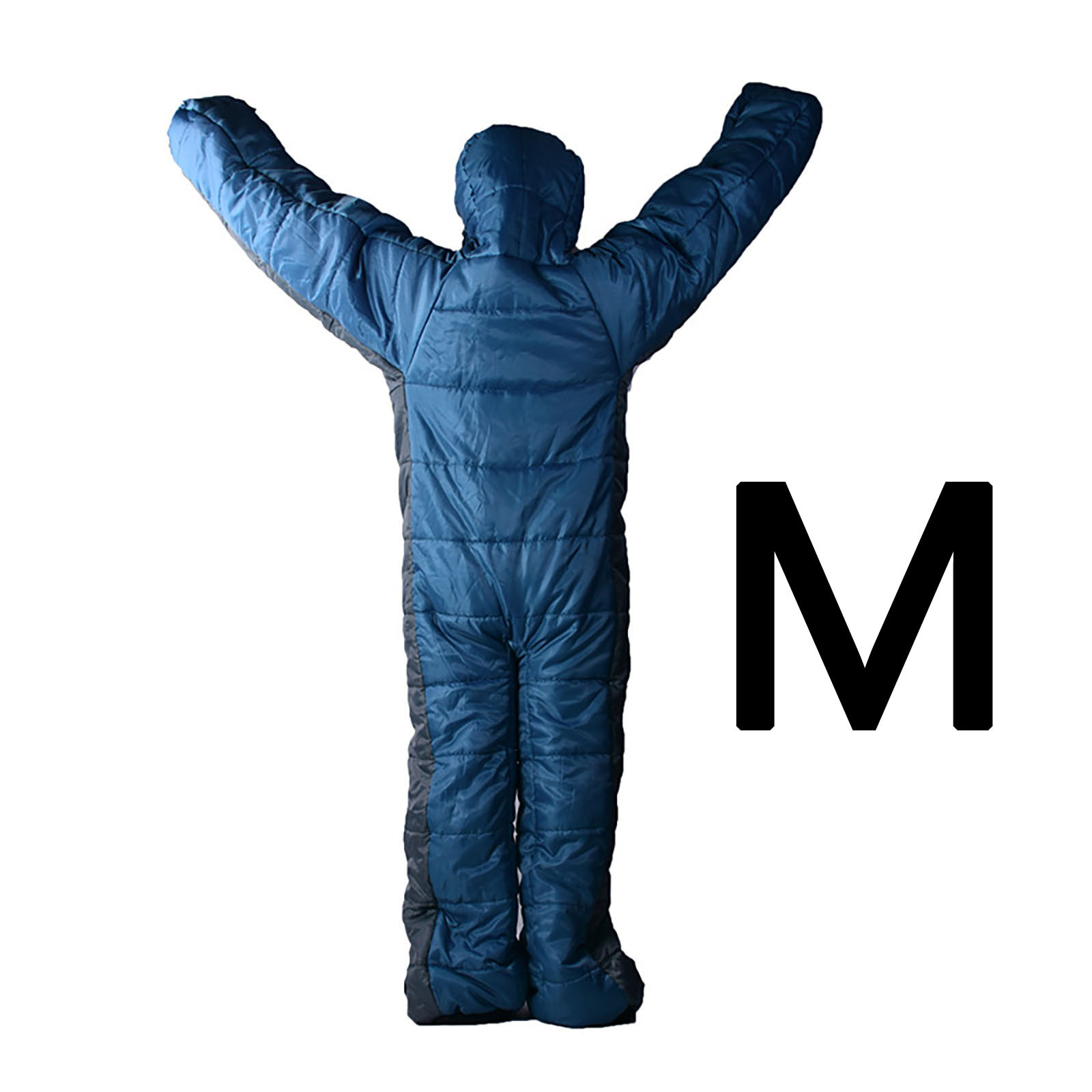 Camping en plein air sac de couchage humain humanoïde marche sac de couchage temporaire repos sommeil imperméable Polyester