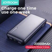 Banco de energía Joyroom 20000mAh 2 USB, Banco de energía 10000mah Mico tipo c, batería externa, cargador portátil, batería externa