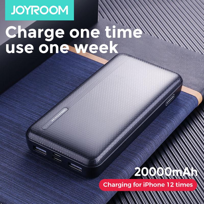 Joyroom внешний аккумулятор 20000 мАч 2 USB внешний аккумулятор 10000 мАч Mico type-c внешний аккумулятор портативное зарядное устройство Внешний аккумул...