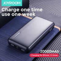 Joyroom Batterie Externe 20000mAh 2 USB Powerbank 10000mah Mico type-c Batterie Externe Portable chargeur Batterie Externe