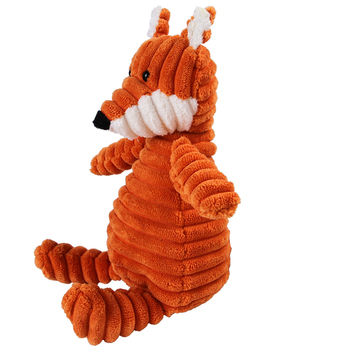 Corduroy Dog Toys for Small Large Dogs Animal Shape Plush Pet Puppy Squeaky Chew Bite Resistant Toy Pets Accessories Supplies 6