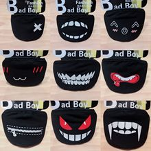 20 Styles Black Cotton Mouth Mask Unisex Teens Anti-Dust Mask Anime Mask Fashion Health Face Mouth Mask