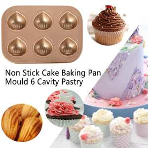 Baking-Pan-Tool Oven Non-Stick Cake Cooking Kitchen Carbon-Steel DIY Chestnut Mould 6-Cavity