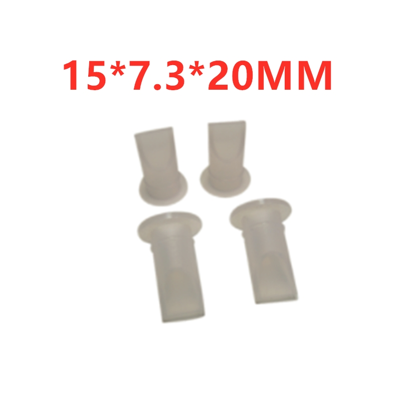 10PCS   15 * 7.3 * 20MM Silicone Environmental Protection Check Valve Duckbill Valve For Printing Machine Miniature Duckbill Che