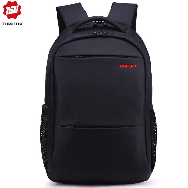 Tigernu Men Women 15-17inch  Backpacks Waterproof Nylon Laptop Backpack Bag Casual Male Mochila School Backpack For Teens