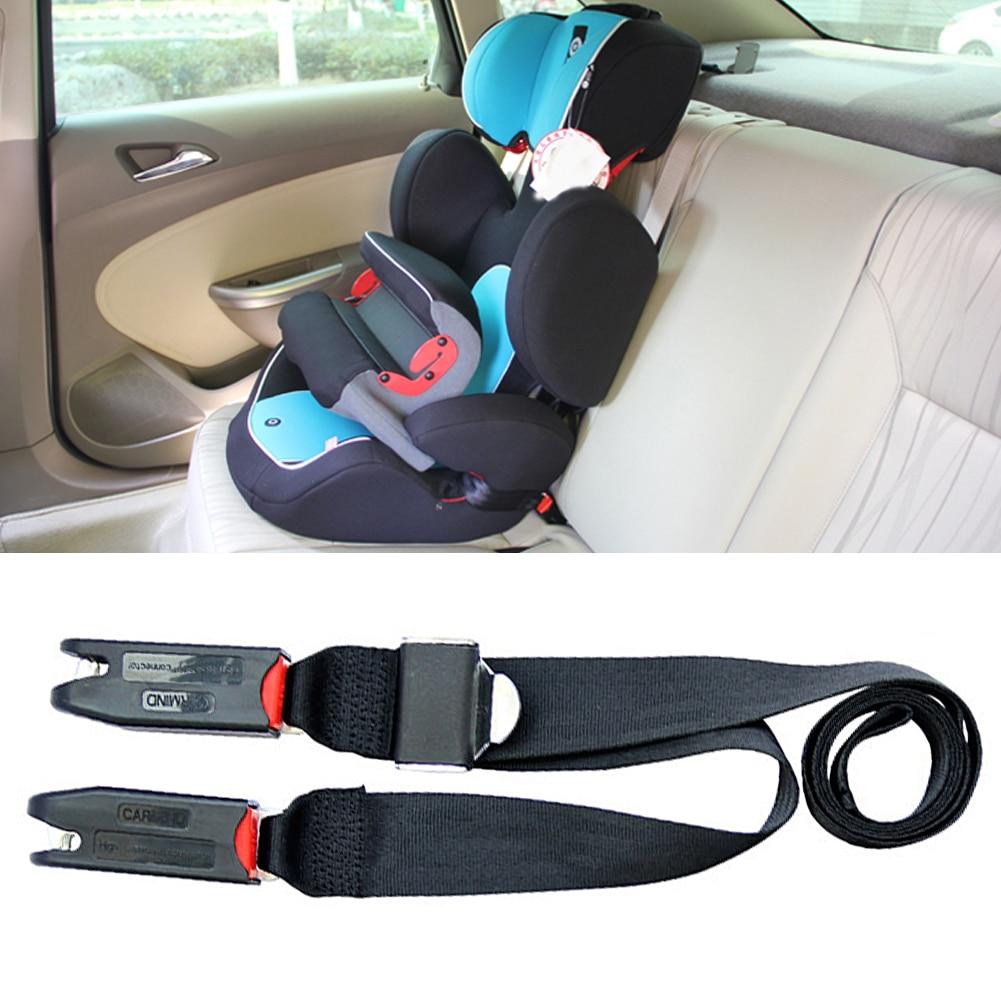 Voiture enfant sécurité siège ISOFIX Interface loquet enfant siège Interface souple connexion ceinture fixation bande