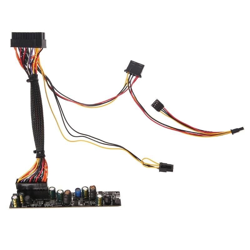 Livraison gratuite DC 12V 120W Pico PSU 24Pin Mini ITX DC à ATX Module d'alimentation PC avec câble livraison directe