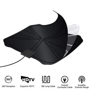 Image 2 - 4K antenne HDTV numérique antenne amplifiée intérieure 1180 Miles de portée HD1080P DVBT2 Freeview TV HD antenne de télévision numérique