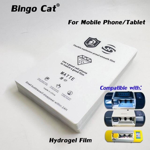 Protecteur décran de Film Hydrogel Flexible, 1 paquet, utilisé pour téléphone portable, Machine de découpe de Film Fonlyu Refox, traceur