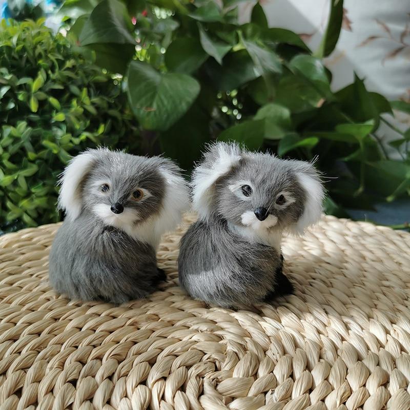 Simulation Koalas Realistic Animal Kids Toy Plush Home Decoration Child Birthday Christmas Gift Animal Model
