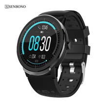 SENBONO S10pro Full Touch Smart Watch Men Women Sports Clock Heart Rate Sleep Monitor Wristband Smartwatch for IOS Android phone