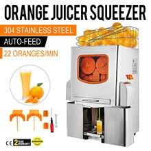 Vevor 오렌지 juicer 감귤류 juicer 전기 과일 juicer 기계 감귤류 레몬 라임 자동 자동 피드 상업