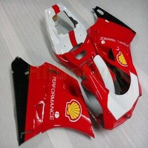 Image 3 - Bouten + Custom Rood Wit Motorfiets Artikel Voor 748 916 996 1996 1997 1998 1999 2000 2001 2002 Abs Motor kuip Kit M2