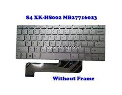 Klawiatura do laptopa skoczek EZBook S4 XK-HS002 MB27716023 angielski usa srebrny bez ramki