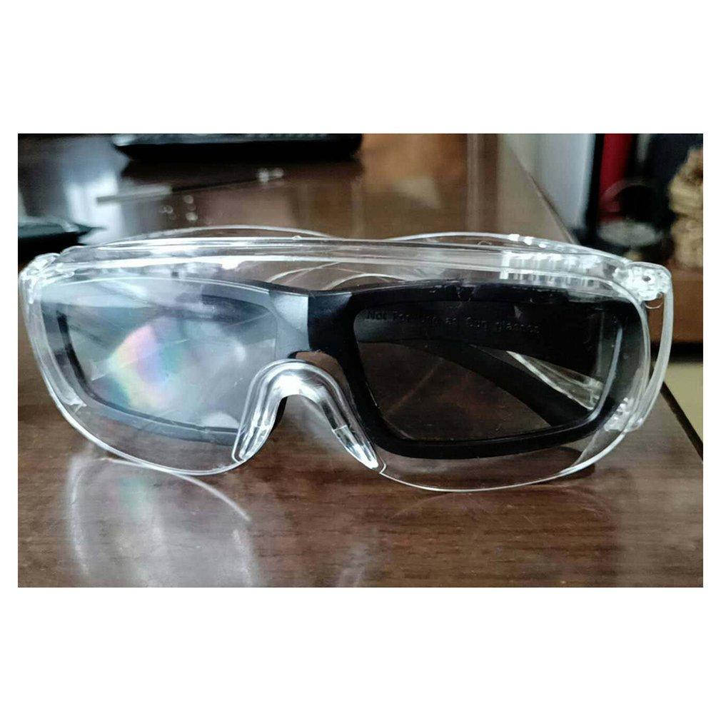1 PCS Safety Glasses Dust-Proof Glasses Working Glasses Lab Dental Eyewear Splash Protective Anti-Wind Glasses Transparent