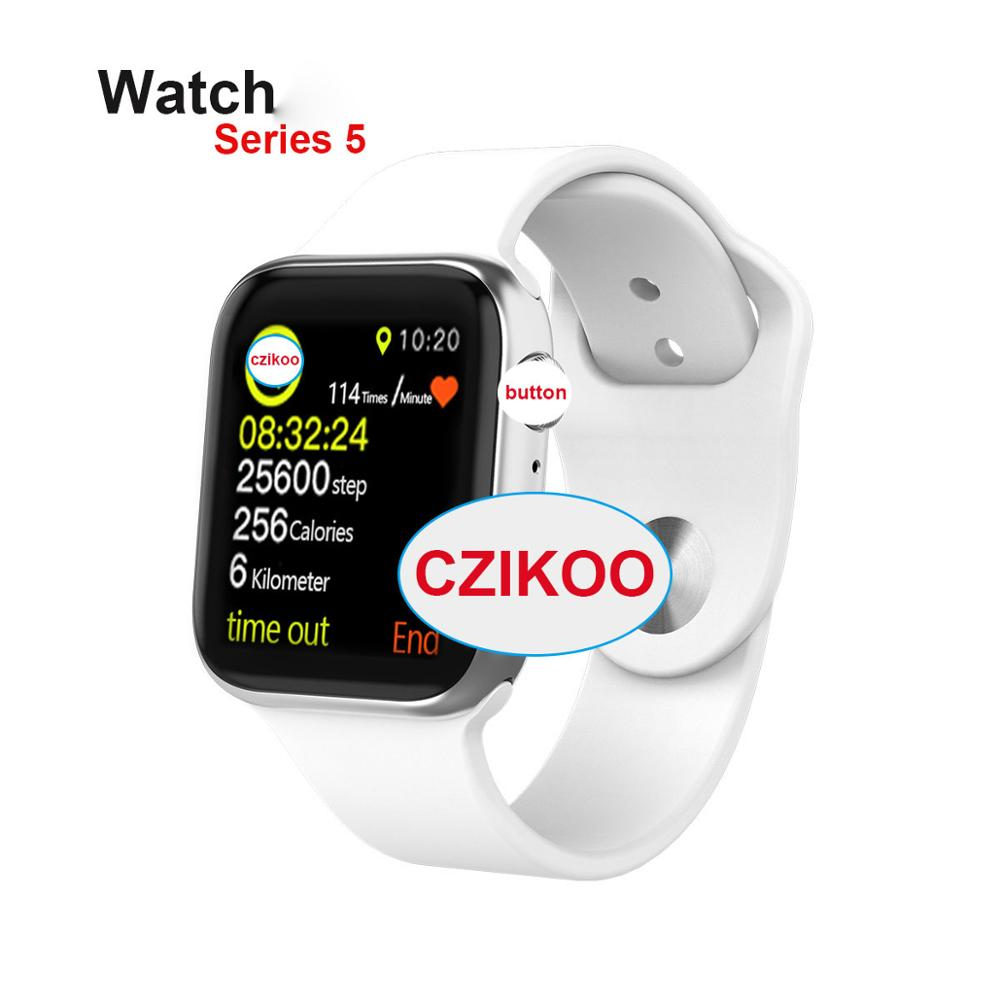 iwo <font><b>12</b></font> <font><b>Smart</b></font> <font><b>Watch</b></font> Series 5 Sync Notifier Support Bluetooth Connectivity iwo 8 relogio inteligente SmartWatch For iphone Android image
