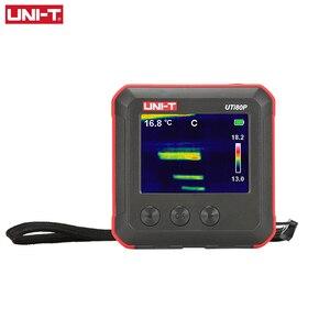 Image 4 - Mini caméra dimagerie thermique à infrarouge (UTi80P), compacte, détection de la température industrielle et du chauffage pour les sols, UNI T