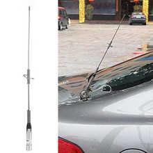 Veículo montado antena transceptores móveis rádio do carro antena NL-770S dupla uv 144/430mhz de aço inoxidável acessórios do automóvel