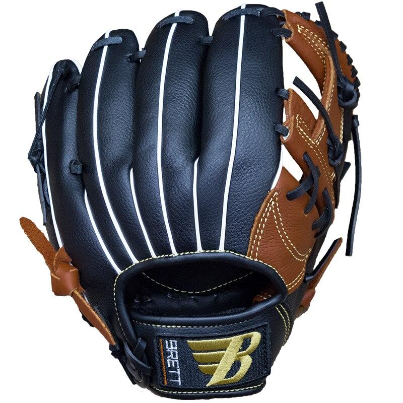 Baseball Batting Gloves Men Kids Leather Right Catcher Baseball Practice Hand Equipment Guante Beisbol Outdoor Sports BJ50ST