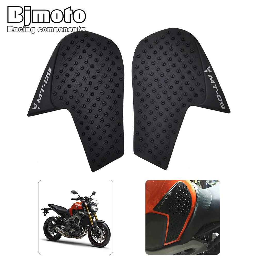 Tank Pad Sticker For Yamaha MT-09 MT09 MT 09 2014 2015 2016 2017 2018 Motorcycle Anti Slip Gas Knee Grip Traction Side 3M Decal
