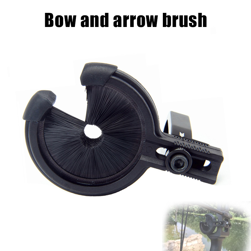 Archery Arrow Containment Whisker Brush Rest Right Or Left Hand For Compound Bow