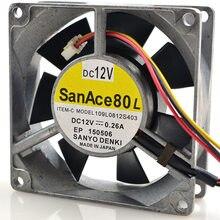 For Sanyo 109L0912H401 9025 9225 12V 0.21A 2P aluminum metal Frame Server inverter cooling fan