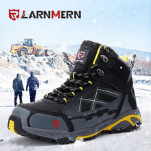 LARNMERN Mens STEEL TOE ทำงานรอง(China)
