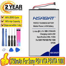 HSABAT – batterie 100% d'origine 3750mAh SP65M pour Sony PSV VITA PSVITA 1000 psv1000 SP65M