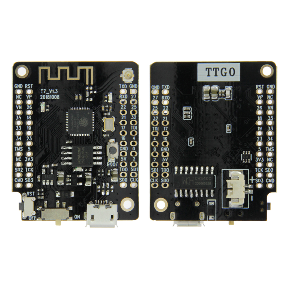 LILYGO   TTGO T7 V1 3 MINI 32 ESP32 WiFi Bluetooth Module Development Board