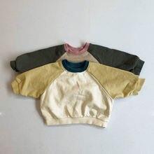 Осенняя детская одежда новинка 2020 модный свитер из махровой