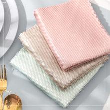Ściereczka do naczyń kuchennych ręcznik z mikrofibry o dużej chłonności nieprzywierająca do mycia naczyń olejowych ścierki do czyszczenia naczyń Kichen Tools