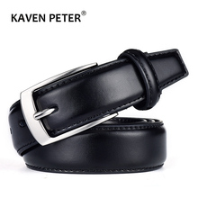Classic Leather Belt For Men Luxury Business Male Cowhide Leather Belts 3.0 CM Casual Pin Buckle Belt For Men Dropshipping
