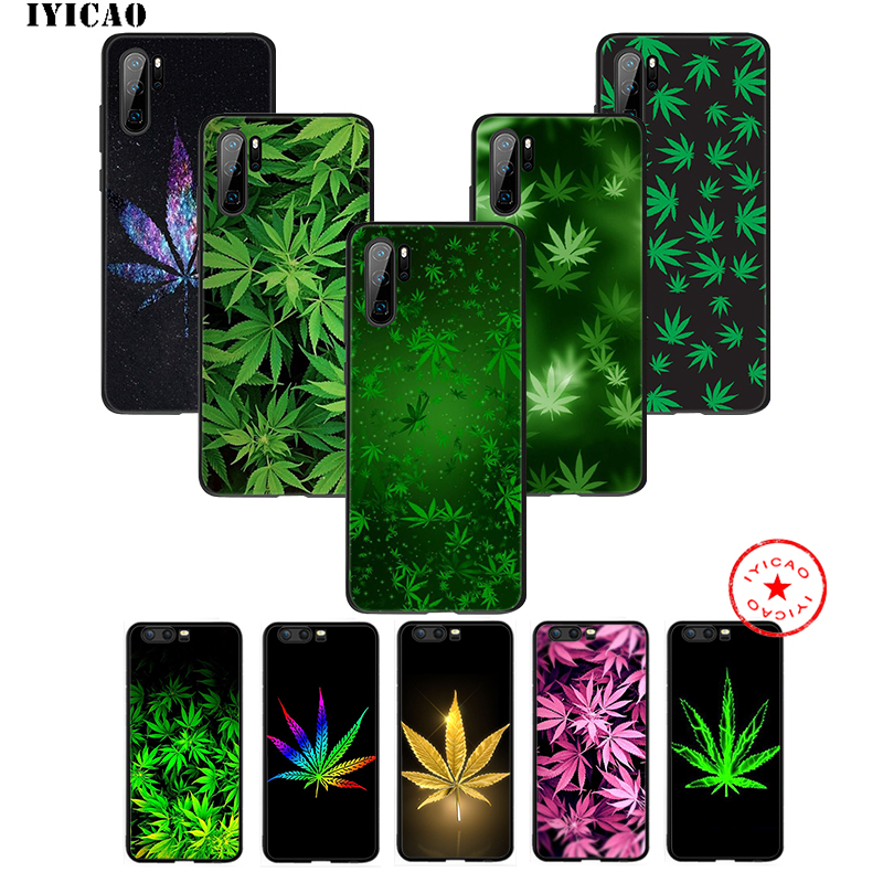 coque huawei p30 weed