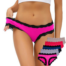 High quality women underwear set 5pcs/pack panties for women solid color smooth female briefs row rise new ladies panties 2020
