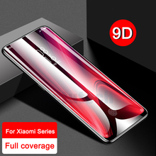 9D Curved Tempered Glass For Xiaomi Mi 9T Redmi K20 Pro K 20 Screen Protector Protective Film on For xiaomi redmi 7 note 7 note7 6d tempered glass for xiaomi mi note 3 full cover curved screen protector film on the for xiaomi mi note 3 protective glass