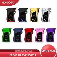 Clearance !! SMOK MAG 225W TC Box MOD Max 225W power by 18650 battery Mod Box Vape Vaporizer vs Drag 2/ shogun/ luxe Mod/ G PRIV