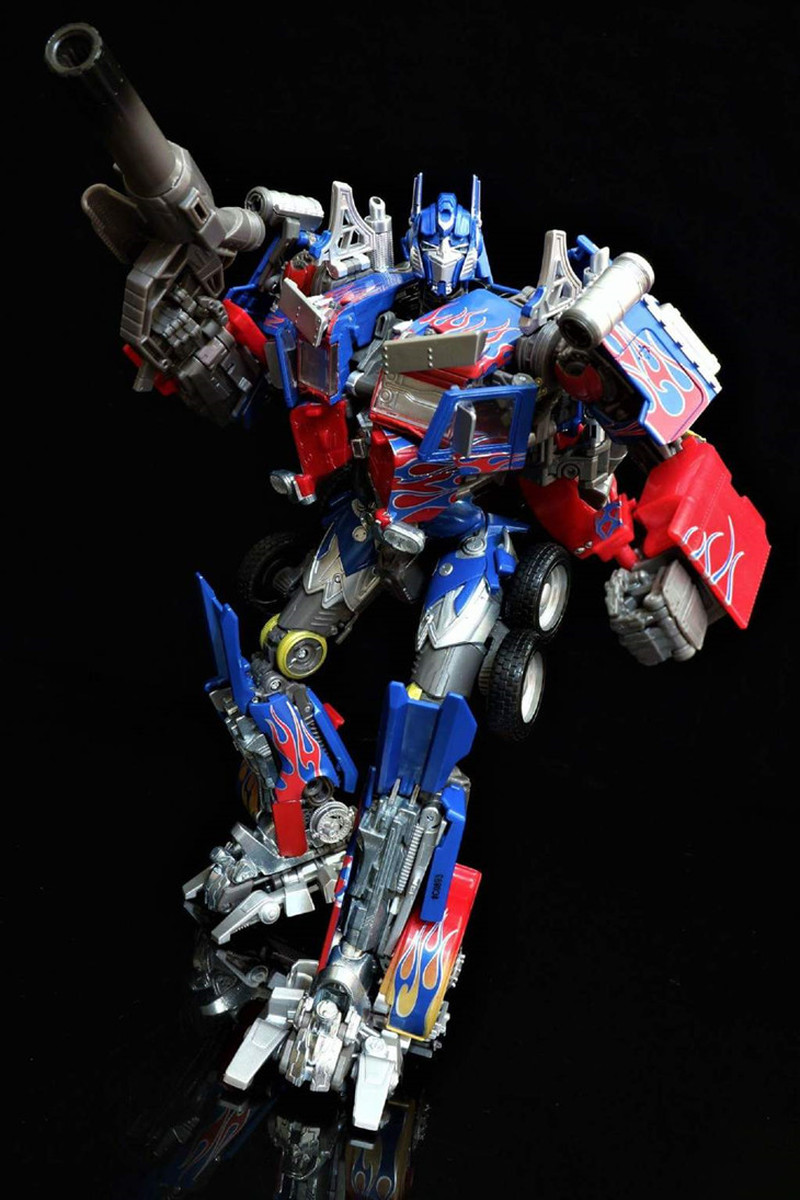 Takara Tomy Transformers Robots Movie Masterpiece <font><b>MPM04</b></font> Optimus Prime MPM-4 Metal Deformation Action Figure Toy Collectible image