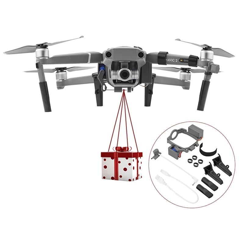 Mavic Drone Parabolic Airdrop Rudder Servo Switch Arm Light Control With Landing Gear For Dji Mavic 2 Zoom Pro Drone Landing Gear Aliexpress