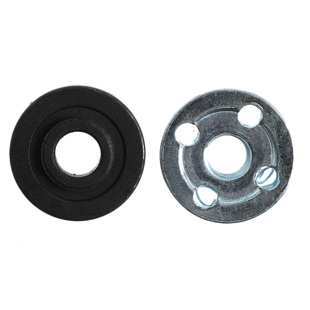 2Pcs Angle Grinder Replacement Part Inner Outer Flange Set Fits For Makita 9523 95AA
