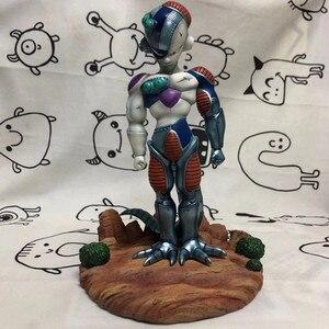 Драконий жемчуг Супер Saiyan Сон Гоку Фриза король холодная битва поврежденная серия Вселенная босс ПВХ экшн-Модель Коллекционная игрушка G547