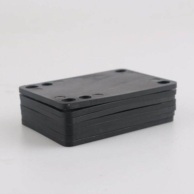 Skateboard Riser Pads Longboard Rise Pads, Soft Longboard Shockpads 3mm-6mm