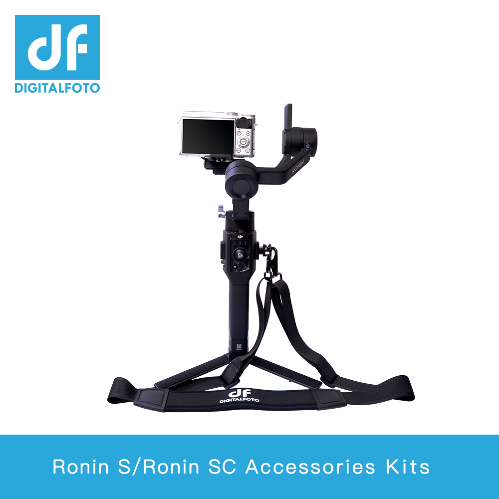 Ronin S Ronn SC accessoires kits met riem, monitor LED Verlichting montageplaat, mini magic arm-in Gimbal accessoires van Consumentenelektronica op  Groep 1