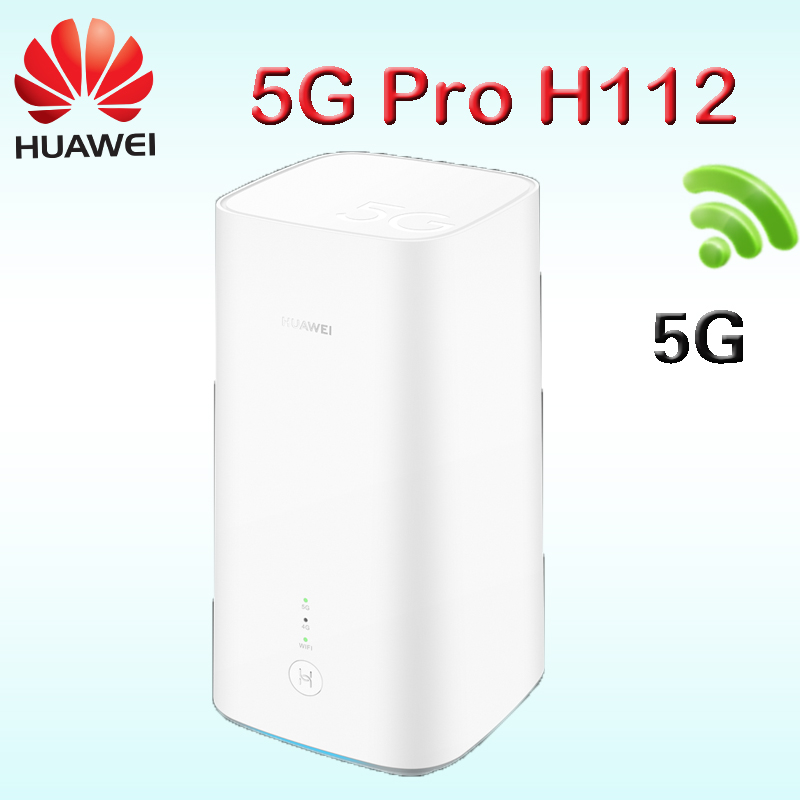 Huawei 5G CPE Pro(H112-372) 5G NSA+SA CPE Wireless Router Wif 5g Wifi Modem Router H112 Router Lan Port H112-370 5g Router