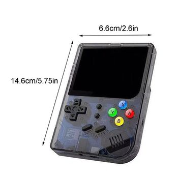 """2020 New 1Set RG300 48G Retro Game Console 3"""" IPS Screen Handheld Game Player Tony System"""