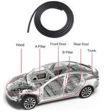 Комплект уплотнений для автомобильной двери tesla звукоизоляционная