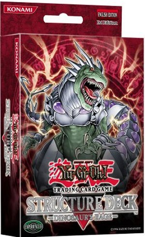 YU GI OH  Genuine - SD09 Dinosaur Rage Dinosaur's Rage / Structure Pack